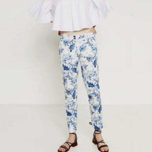 Tienda el precio más baratas mejor proveedor ZARA WOMAN chino fit pants B26 NWT